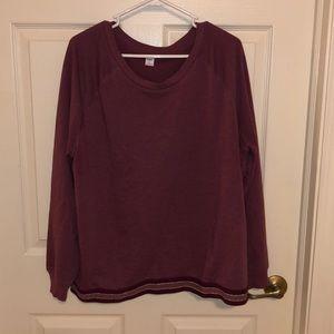 Old Navy Active Embellished Bottom Sweatshirt
